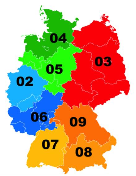 Vorwahlen Deutschland Karte.Telefonvorwahlen In Deutschland